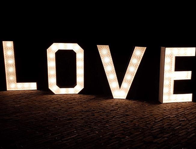 Love letters huren voor je bruiloft