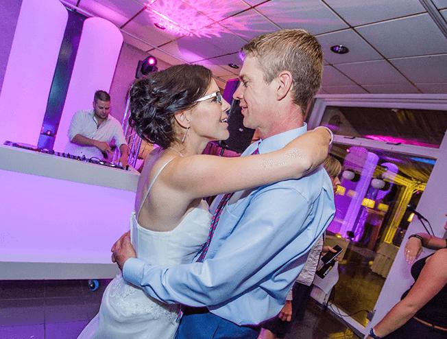 Openingsdans bij het trouwen