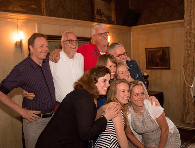 Onze party fotograaf maakt graag leuke foto's van je feest
