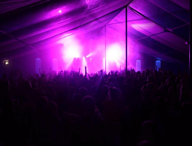Feestweek dj show in Doezum